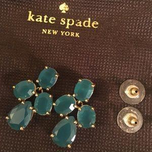Turquoise Kate Spade Earrings